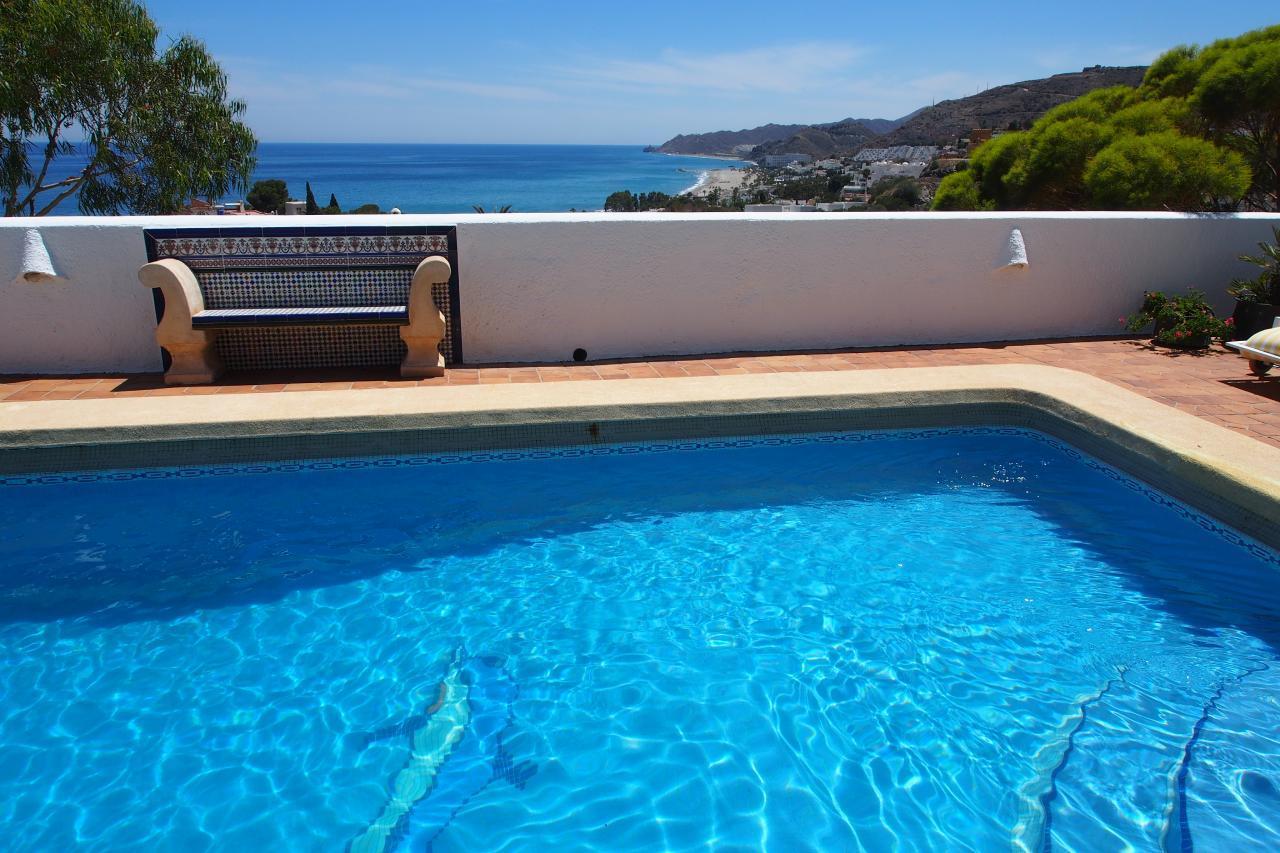 Ferienhaus Villa im maurischen Stil mit großartigem Blick auf das Meer (2413053), Mojacar, Costa de Almeria, Andalusien, Spanien, Bild 8