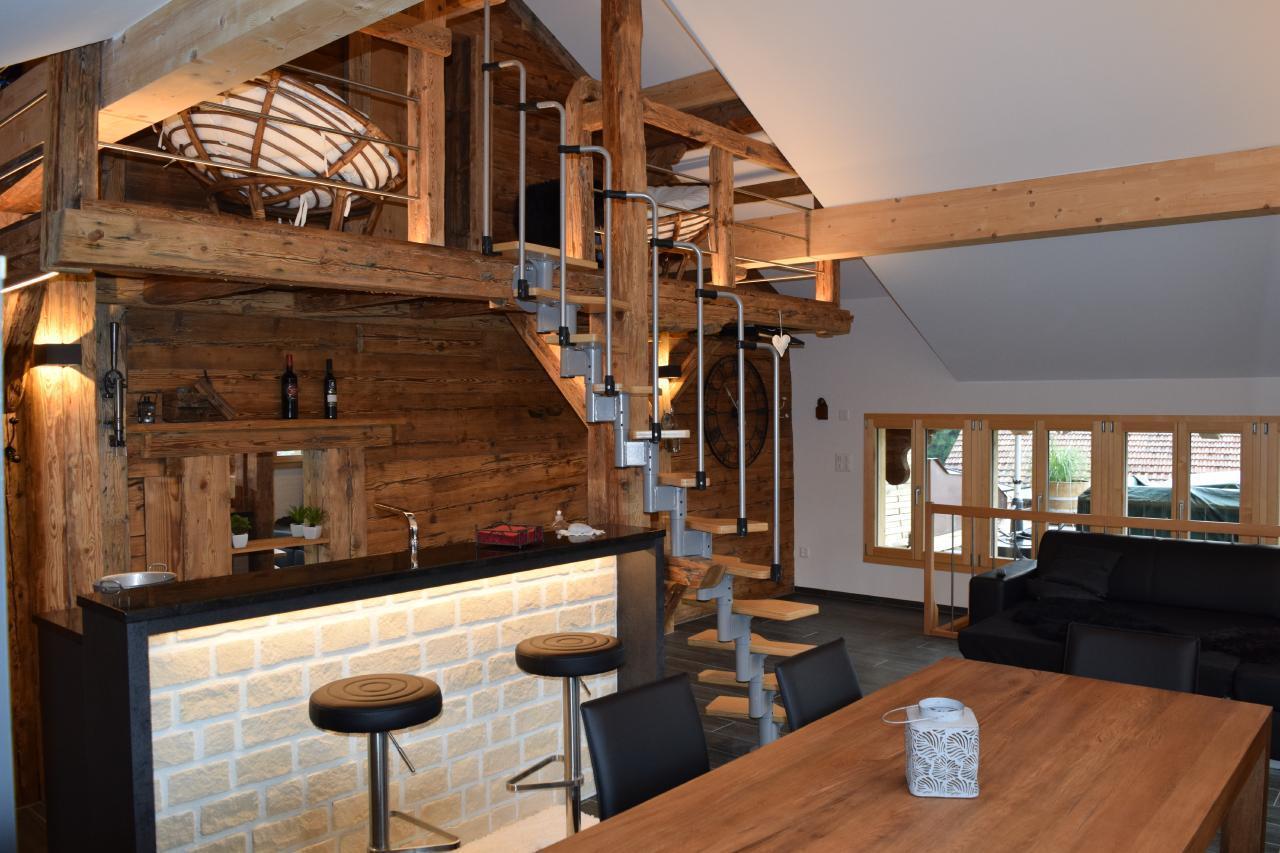 Appartement de vacances 2 Zimmer-Ferienwohnung im Altholz-Stil (2470618), Oey, Diemtigtal, Oberland bernois, Suisse, image 7
