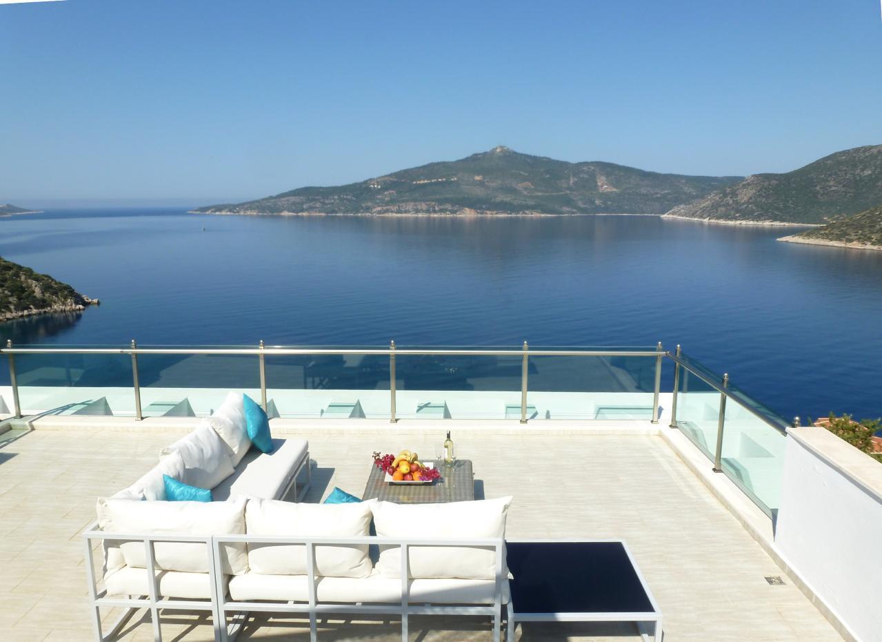 Maison de vacances Stilvolle, prämierte 5-Schlafzimmer-Villa mit traumhaftem Meerblick über die Kalkan-Bucht (2473910), Kalkan, , Région Méditerranéenne, Turquie, image 13