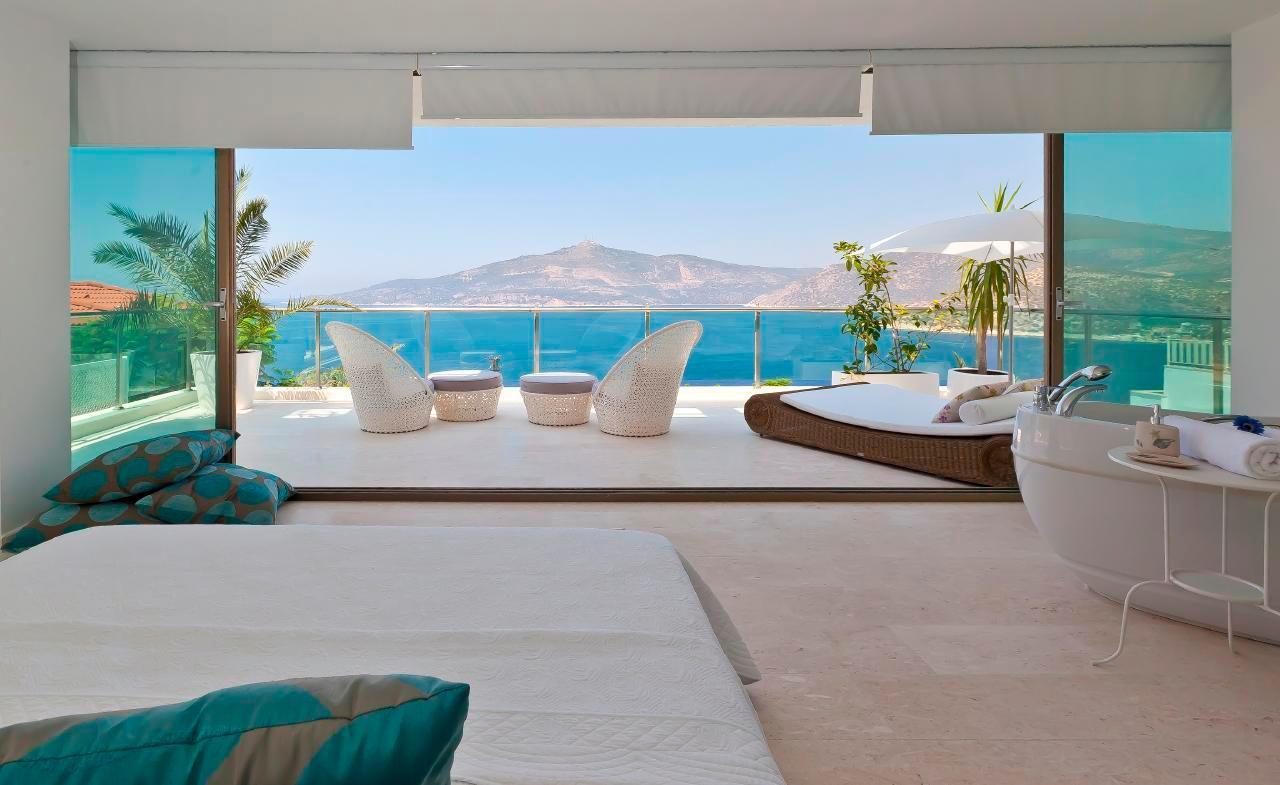 Maison de vacances Stilvolle, prämierte 5-Schlafzimmer-Villa mit traumhaftem Meerblick über die Kalkan-Bucht (2473910), Kalkan, , Région Méditerranéenne, Turquie, image 7