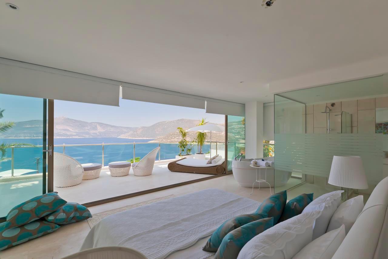 Maison de vacances Stilvolle, prämierte 5-Schlafzimmer-Villa mit traumhaftem Meerblick über die Kalkan-Bucht (2473910), Kalkan, , Région Méditerranéenne, Turquie, image 8