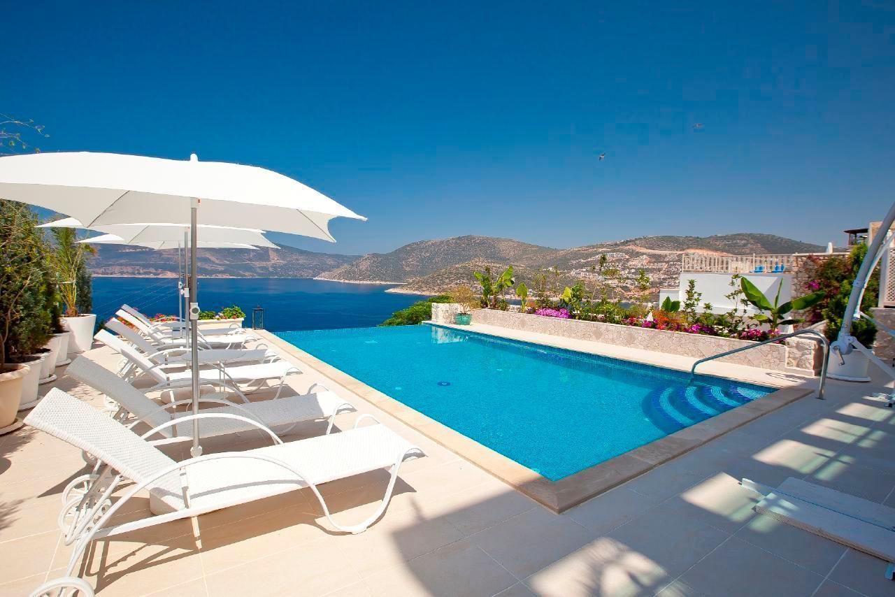 Maison de vacances Stilvolle, prämierte 5-Schlafzimmer-Villa mit traumhaftem Meerblick über die Kalkan-Bucht (2473910), Kalkan, , Région Méditerranéenne, Turquie, image 2