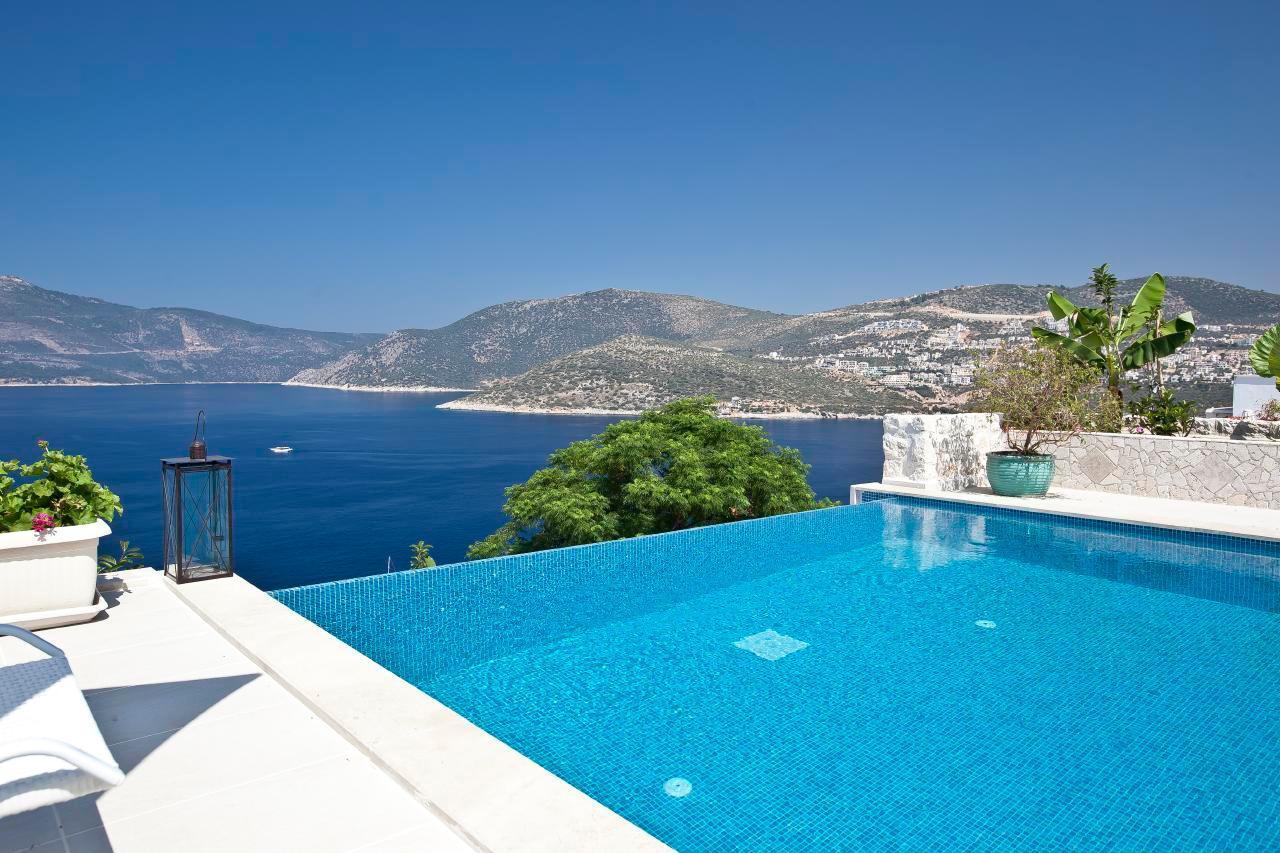 Maison de vacances Stilvolle, prämierte 5-Schlafzimmer-Villa mit traumhaftem Meerblick über die Kalkan-Bucht (2473910), Kalkan, , Région Méditerranéenne, Turquie, image 14
