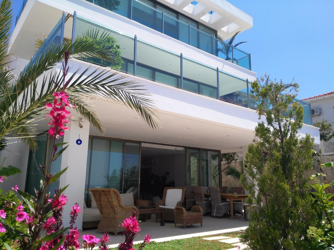 Maison de vacances Stilvolle, prämierte 5-Schlafzimmer-Villa mit traumhaftem Meerblick über die Kalkan-Bucht (2473910), Kalkan, , Région Méditerranéenne, Turquie, image 16