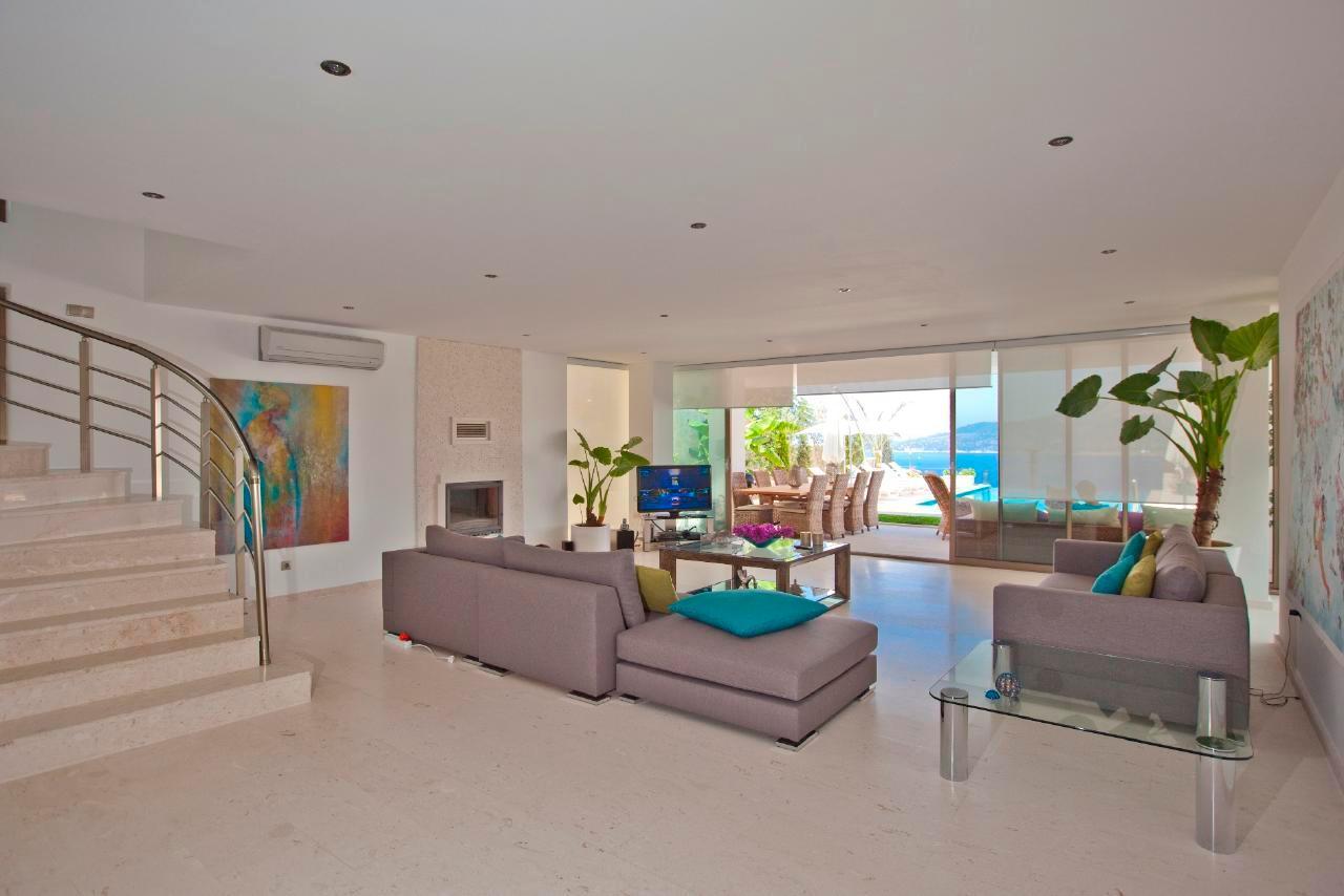 Maison de vacances Stilvolle, prämierte 5-Schlafzimmer-Villa mit traumhaftem Meerblick über die Kalkan-Bucht (2473910), Kalkan, , Région Méditerranéenne, Turquie, image 4