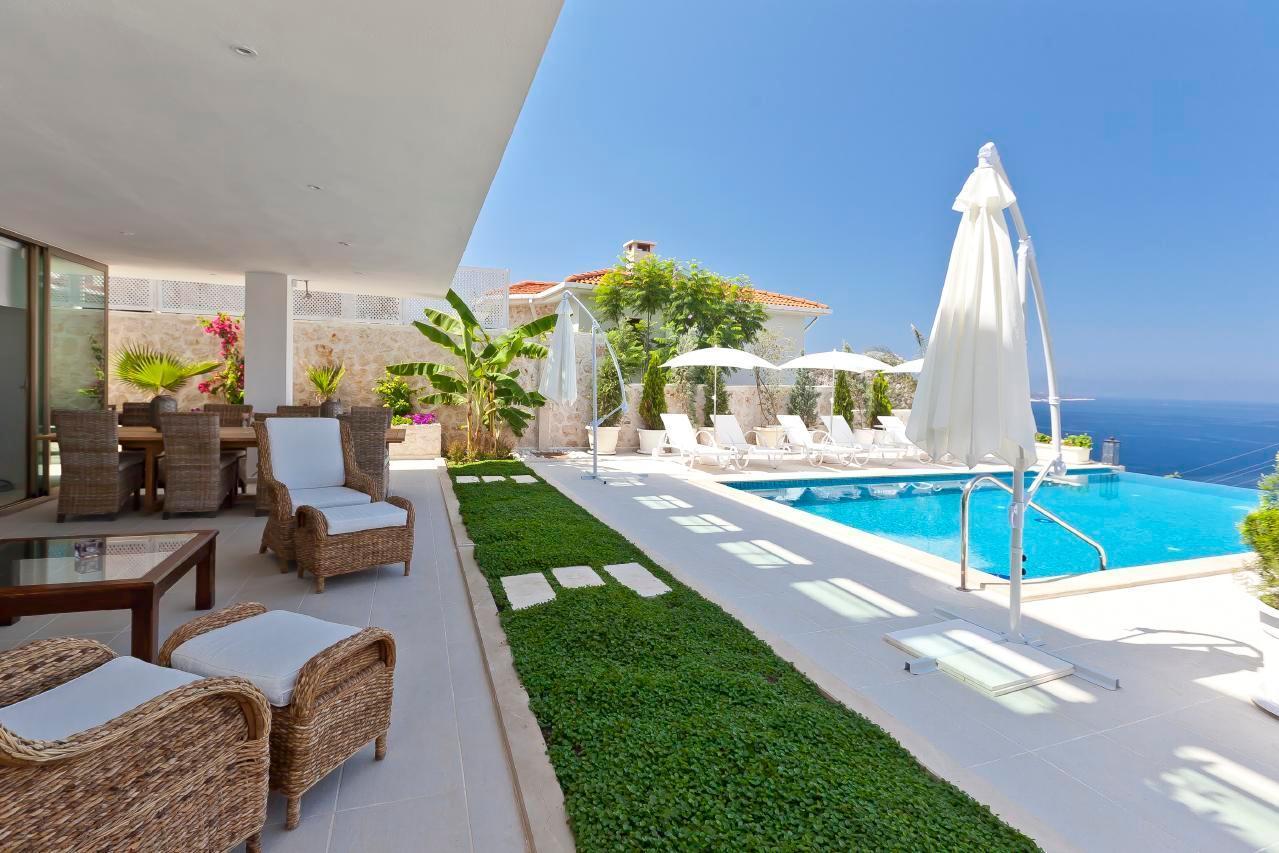 Maison de vacances Stilvolle, prämierte 5-Schlafzimmer-Villa mit traumhaftem Meerblick über die Kalkan-Bucht (2473910), Kalkan, , Région Méditerranéenne, Turquie, image 18