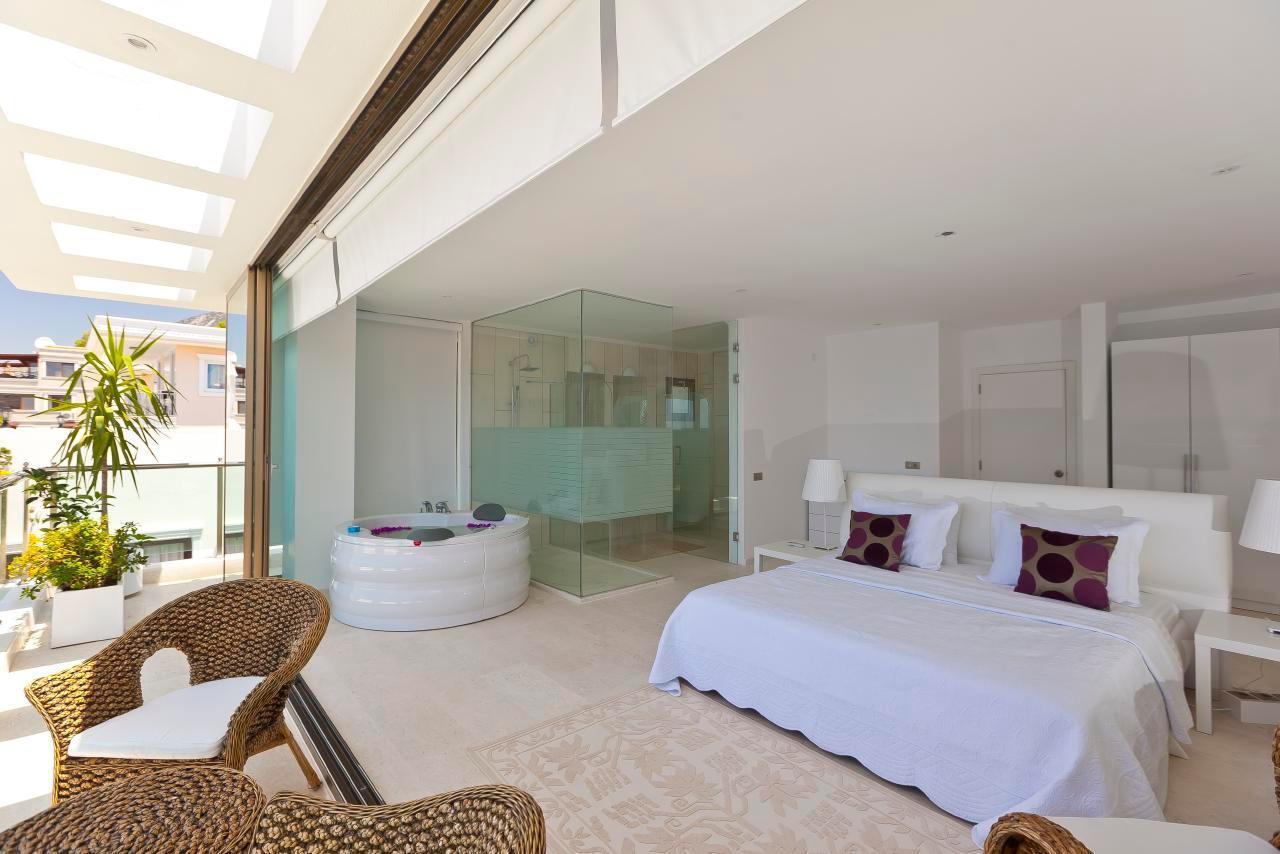Maison de vacances Stilvolle, prämierte 5-Schlafzimmer-Villa mit traumhaftem Meerblick über die Kalkan-Bucht (2473910), Kalkan, , Région Méditerranéenne, Turquie, image 10