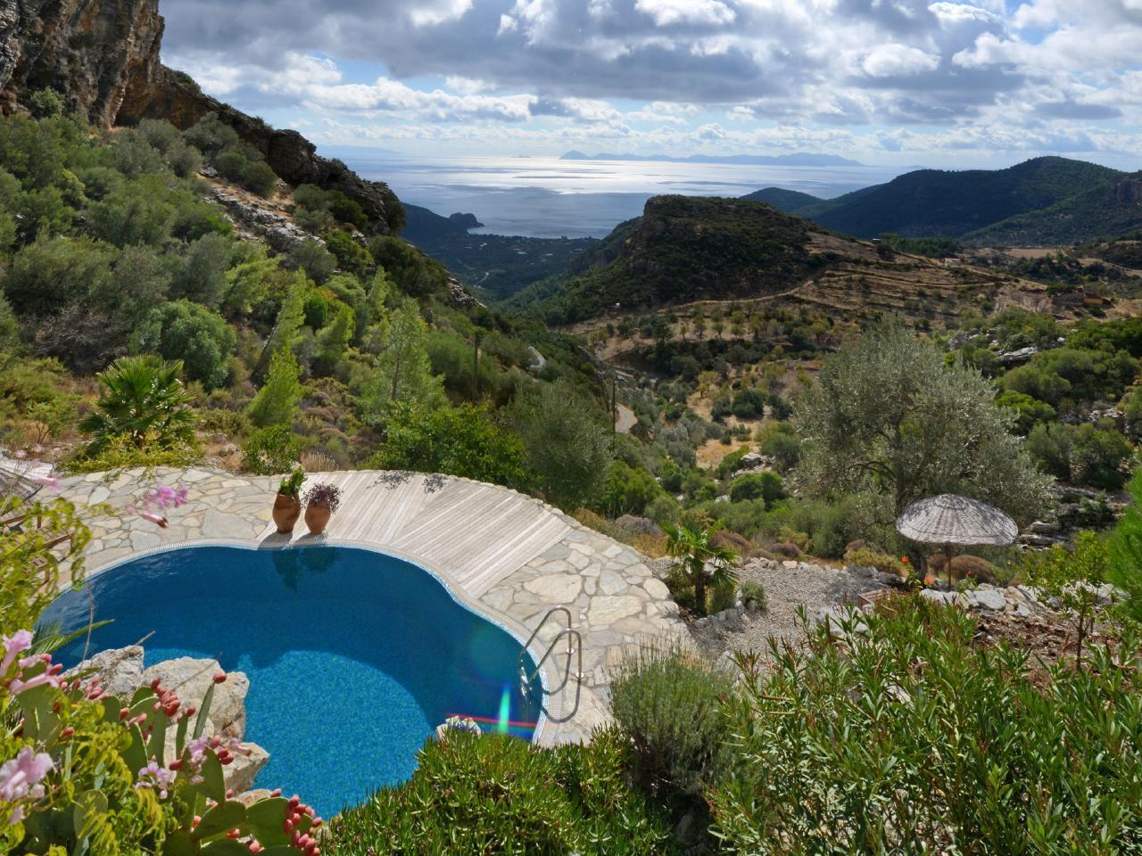 Maison de vacances Exklusives Chalet, romantisch am Berghang und Meer gelegen (2506674), Mesudiye, , Région Egéenne, Turquie, image 18
