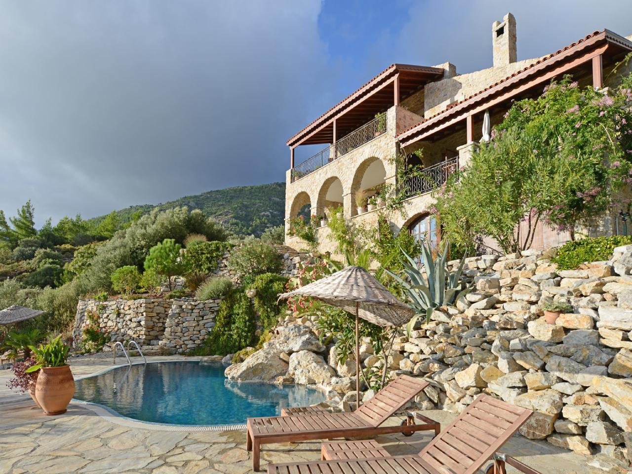 Maison de vacances Exklusives Chalet, romantisch am Berghang und Meer gelegen (2506674), Mesudiye, , Région Egéenne, Turquie, image 1