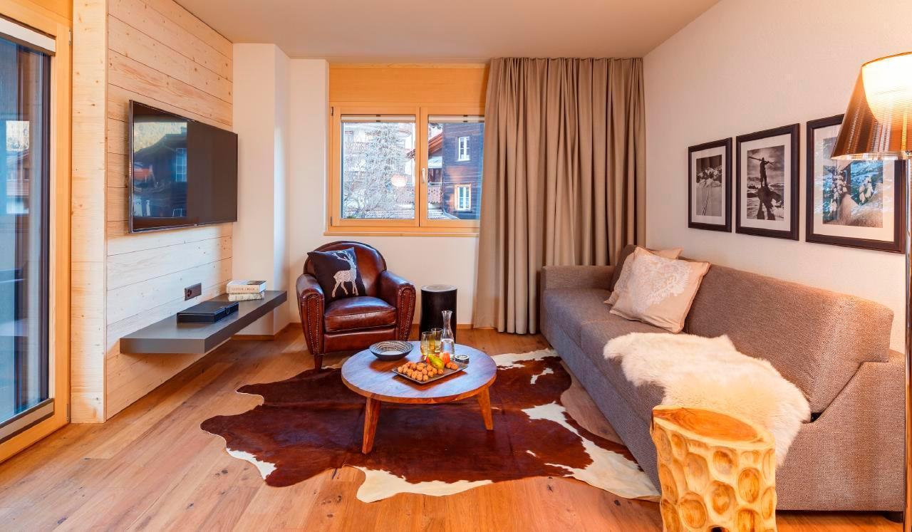 Appartement de vacances 2-Zimmer-Ferienwohnung im Chalet Piz Buin (2534485), Klosters, Davos - Klosters - Prättigau, Grisons, Suisse, image 4