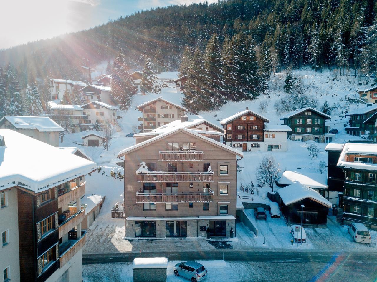 Appartement de vacances 2-Zimmer-Ferienwohnung im Chalet Piz Buin (2534485), Klosters, Davos - Klosters - Prättigau, Grisons, Suisse, image 9