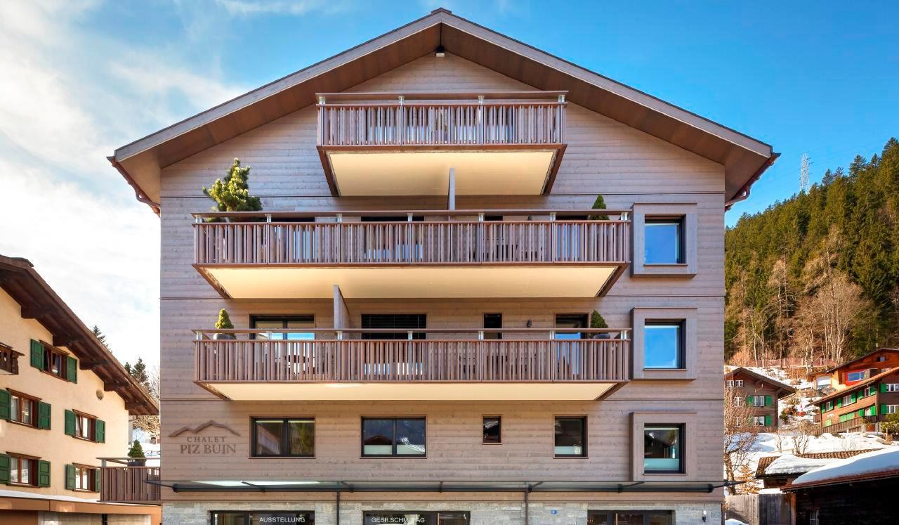Appartement de vacances 2-Zimmer-Ferienwohnung im Chalet Piz Buin (2534485), Klosters, Davos - Klosters - Prättigau, Grisons, Suisse, image 8
