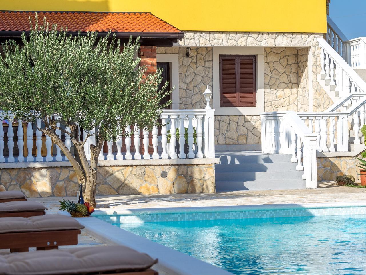 Ferienhaus Iva mit Pool