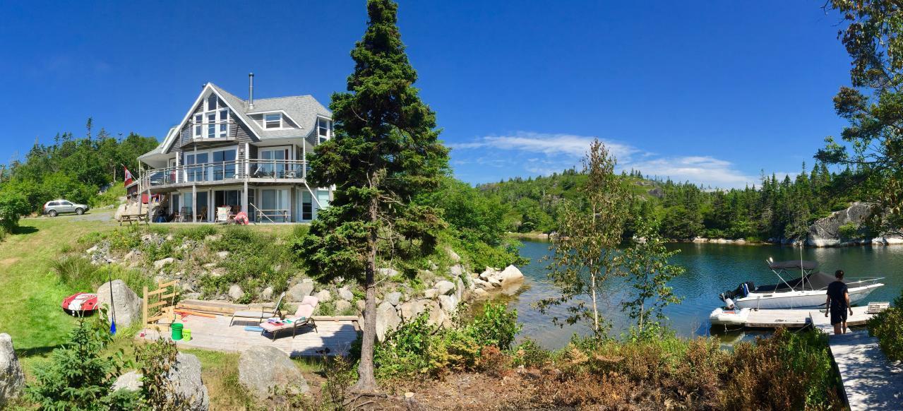 Kanadischer Inseltraum am Meer Ferienhaus in Nordamerika