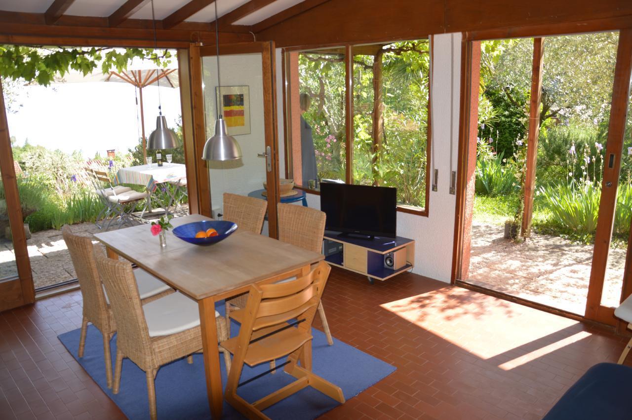 Ferienhaus Bungalow über dem Gardasee mit malerischem Garten,See- und Bergblick (2575328), Gardola, Gardasee, Lombardei, Italien, Bild 1