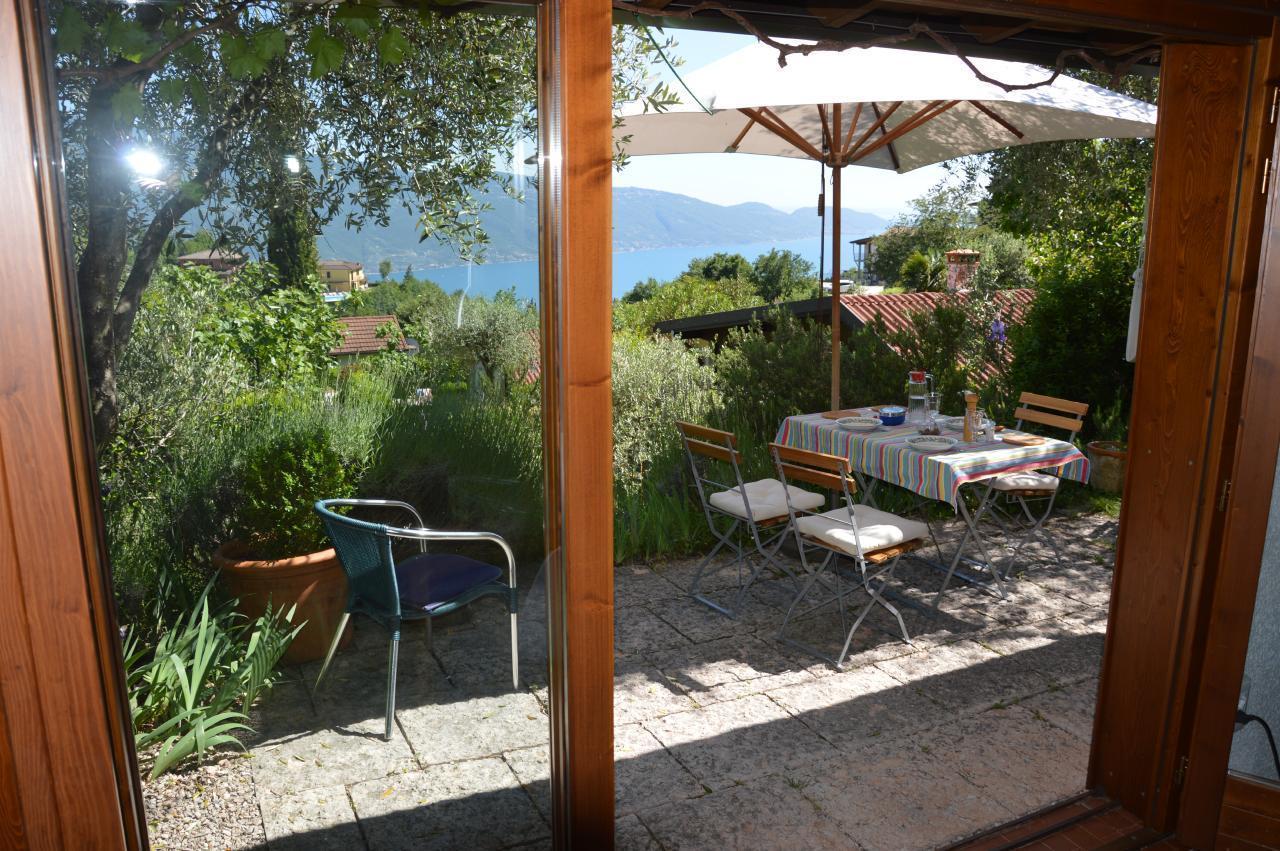 Ferienhaus Bungalow über dem Gardasee mit malerischem Garten,See- und Bergblick (2575328), Tignale, Gardasee, Lombardei, Italien, Bild 17