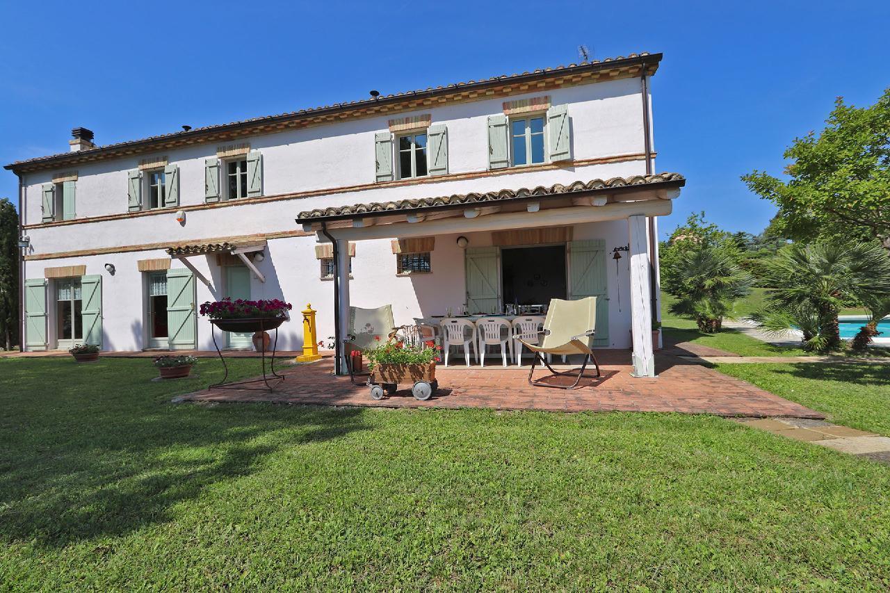 Ferienhaus Private Villa mit Pool, 9 Schlafplätze, 3 Schlafzimmer, WLAN, Klimaanlage, Panoramablick (2575332), Corinaldo, Ancona, Marken, Italien, Bild 10