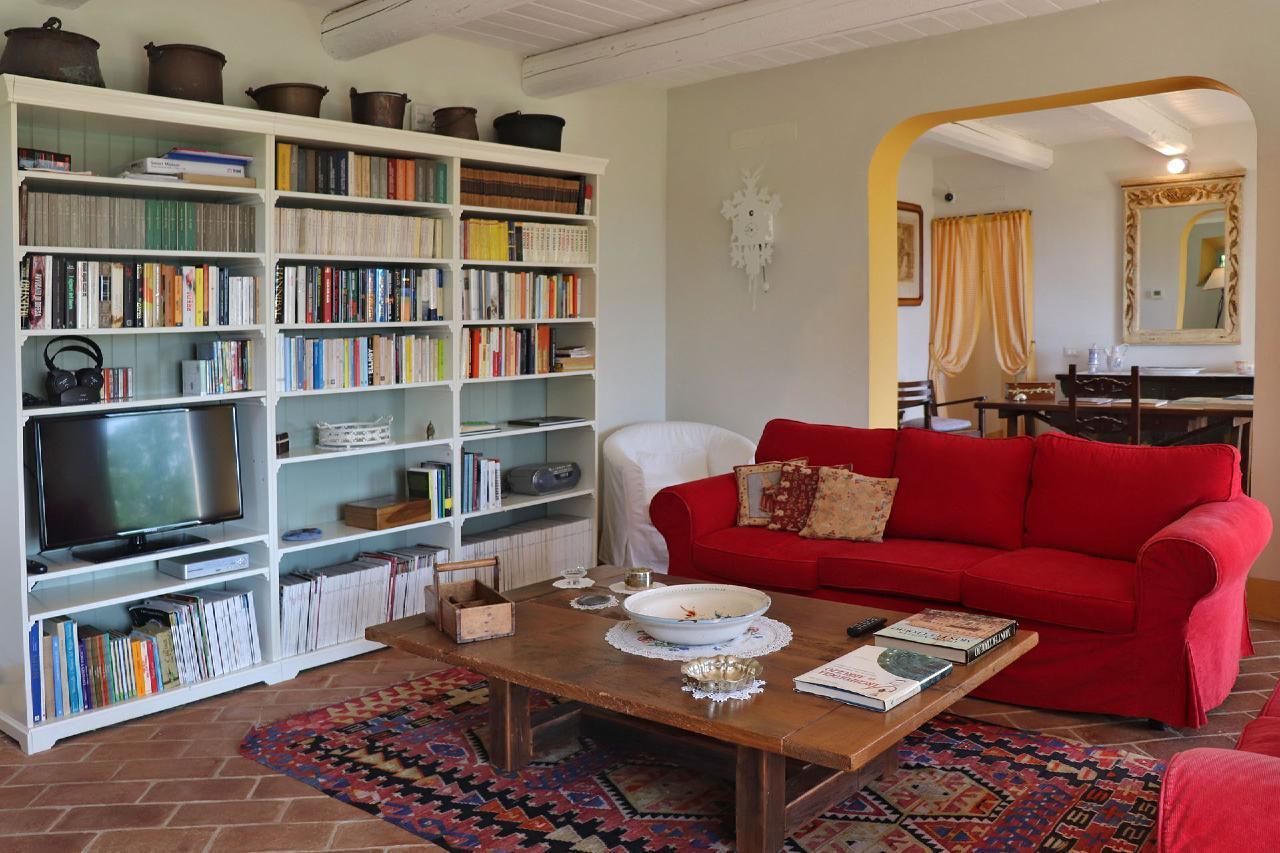 Ferienhaus Private Villa mit Pool, 9 Schlafplätze, 3 Schlafzimmer, WLAN, Klimaanlage, Panoramablick (2575332), Corinaldo, Ancona, Marken, Italien, Bild 18