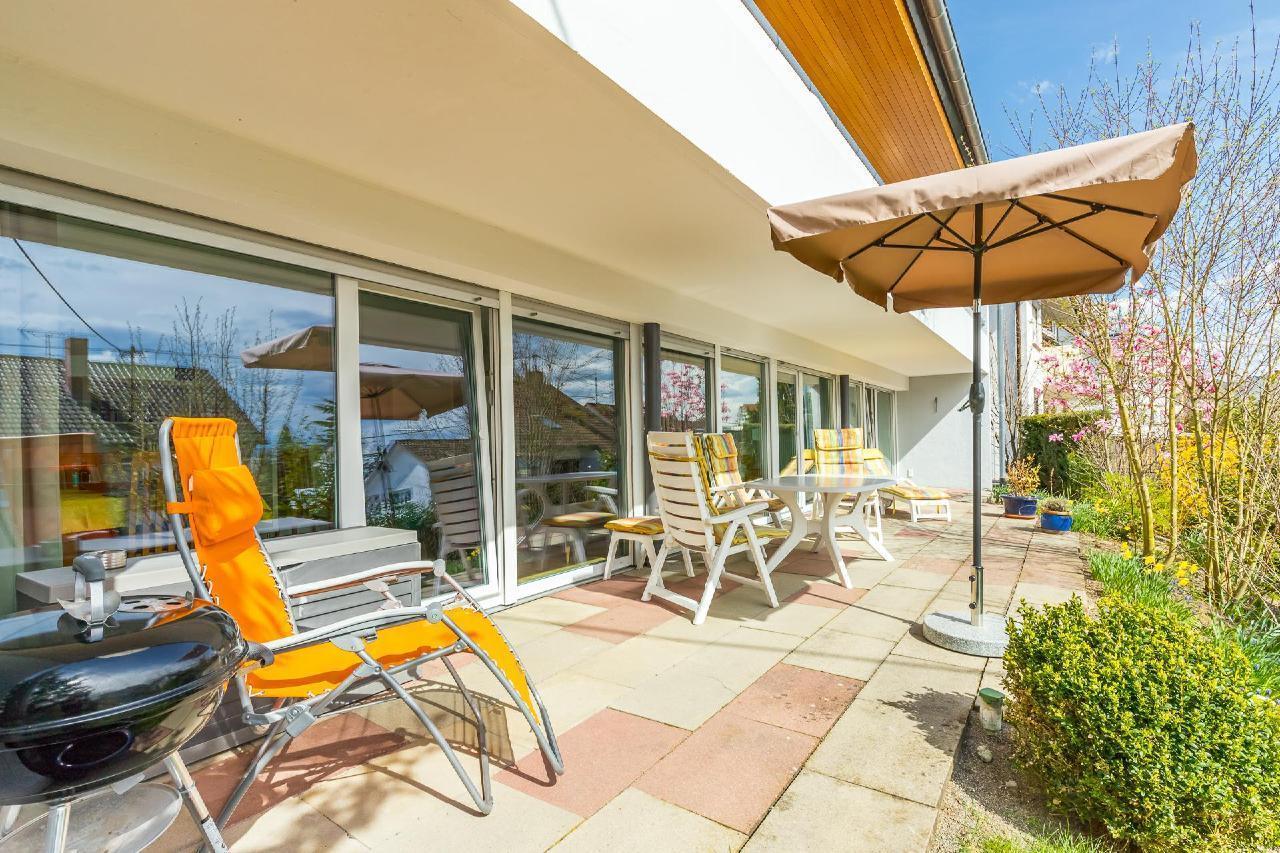 Ihre Ferienwohnung mit Südterrasse und Garten Ferienwohnung am Bodensee