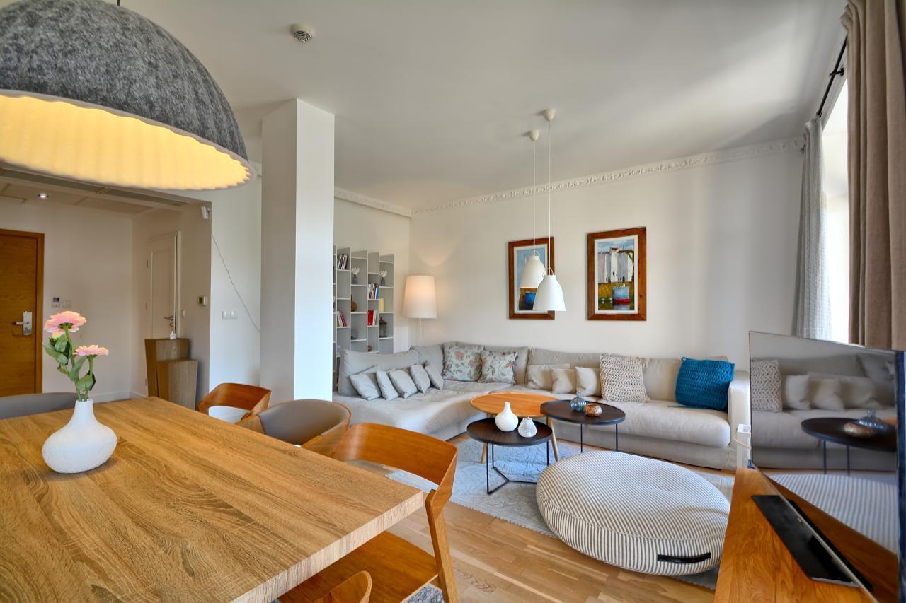 Apartment-Penthouse am Strand mit Meerblick Ferienwohnung in Polen
