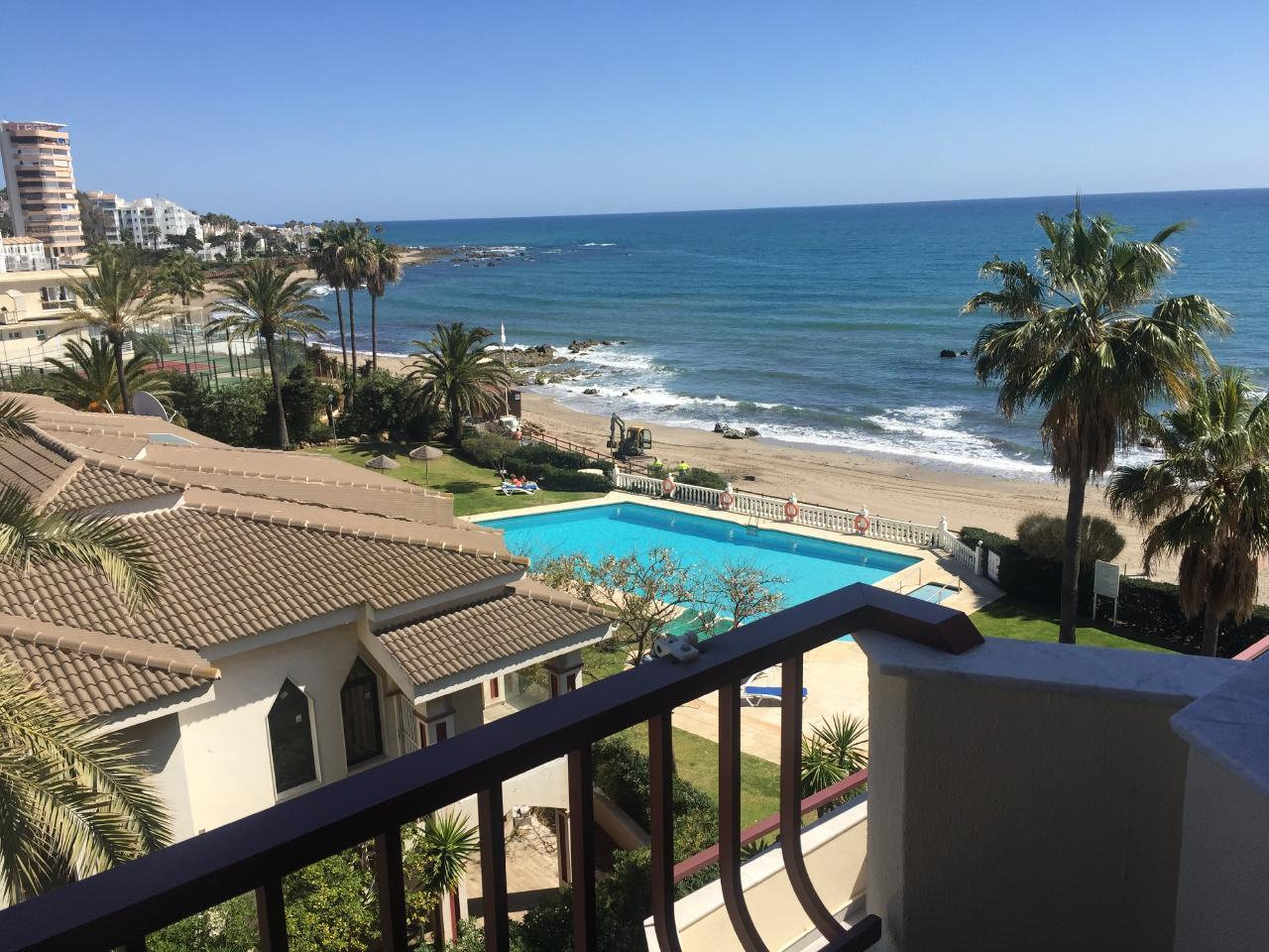 Ferienwohnung Lubina del Sol 1 3 mit Meerblick in Cala de Mijas nur 50 Meter vom Strand