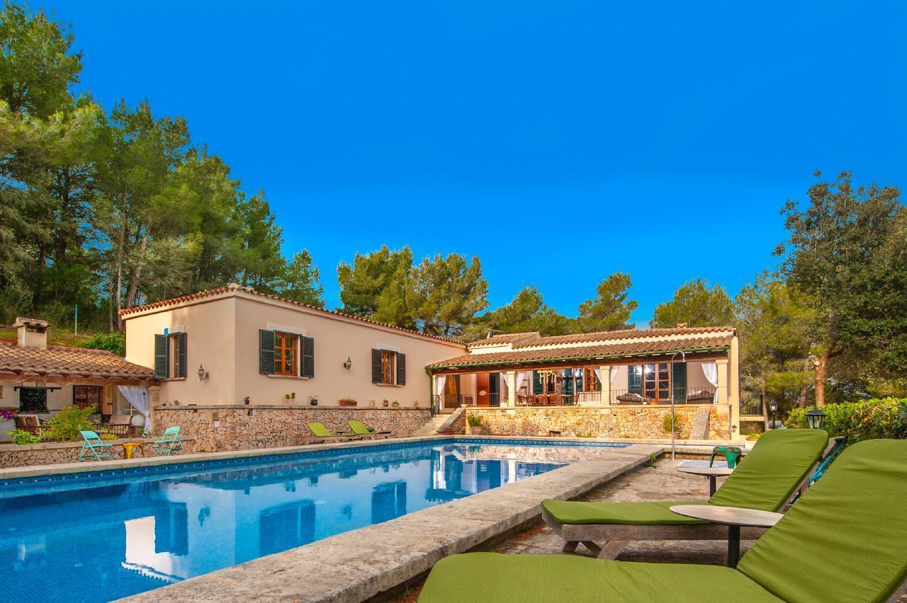 Traumhaftes Ferienhaus auf der Finca Es Collet für Ihren perfekten Urlaub