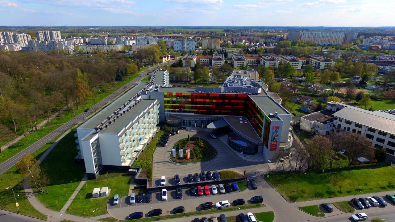 Komfortable Ferienwohnung in einem 5-Sterne-AQUARI Ferienwohnung in Polen