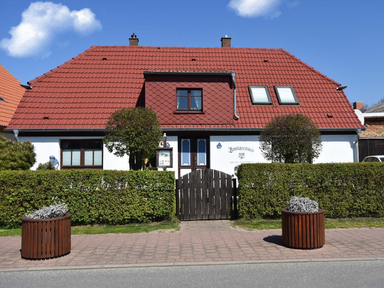 Kapitänshaus Schaprode Ferienhaus auf Rügen