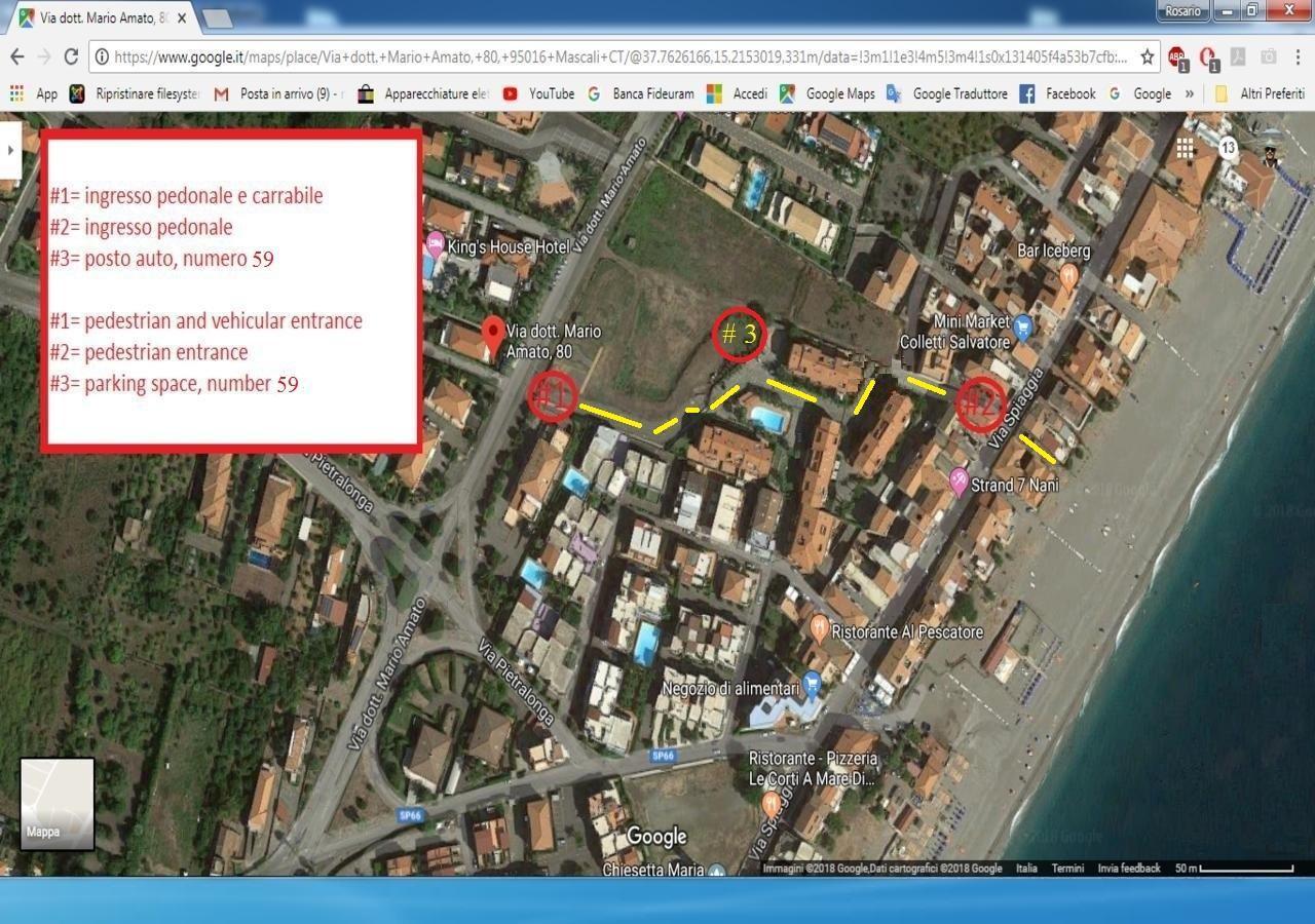 Appartement de vacances MARE - ETNA - TAORMINA (2618228), Mascali, Catania, Sicile, Italie, image 37