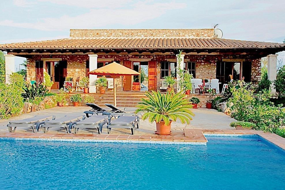Finca Can Higuera mit Pool Garten und Nähe zum Es Trenc Strand
