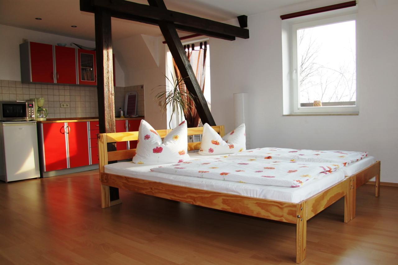 Ferienwohnung Studio mit Balkon in Leipzig Südwest (269573), Leipzig, Sächsisches Burgen- und Heideland, Sachsen, Deutschland, Bild 9
