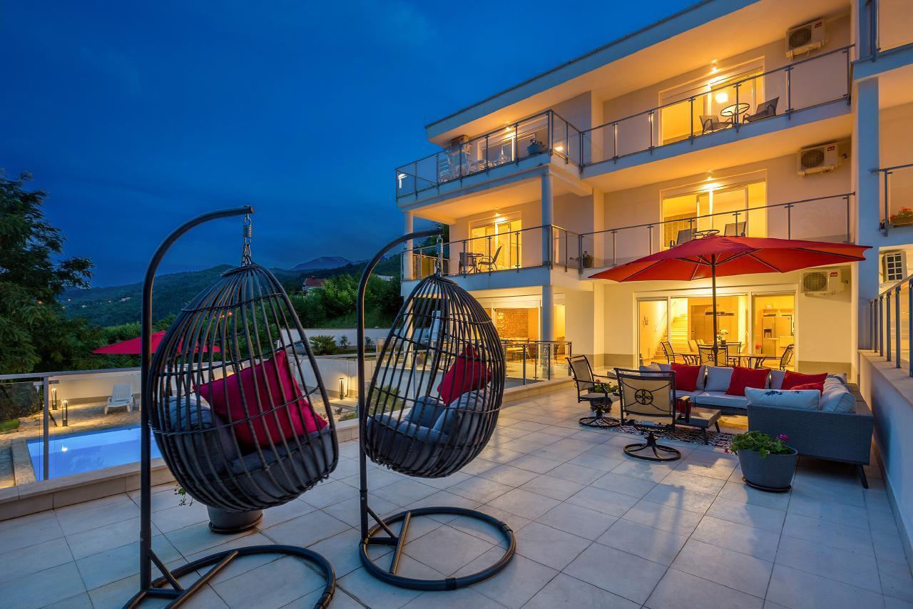 Villa Theodor - Josip mit privaten Pools - 6 km vo Villa in Kroatien