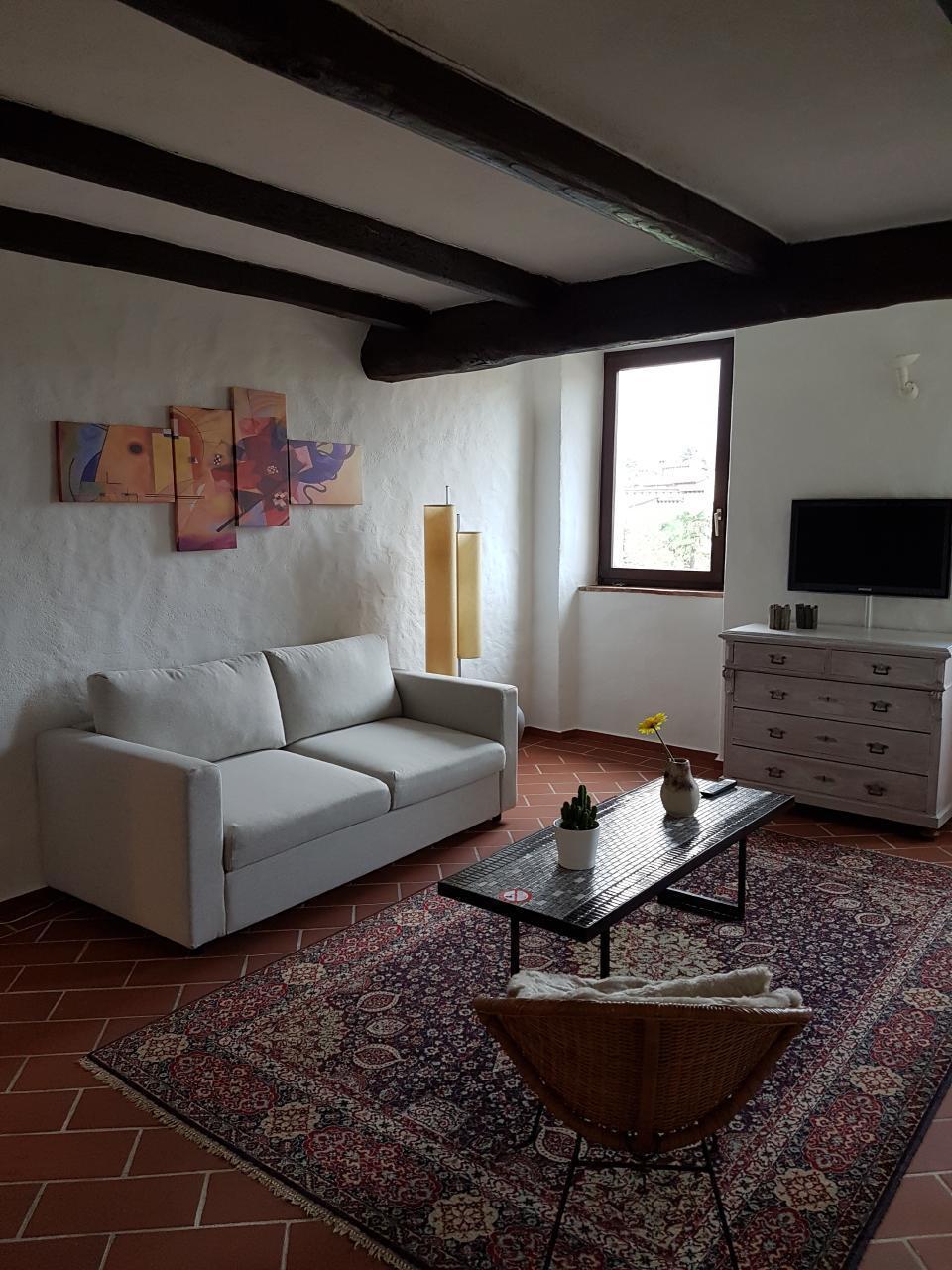 Ferienwohnung 2.5 Zi-Dachwohnung *Il rustico* mit viel Charme (2704083), Caslano, Lago di Lugano (CH), Tessin, Schweiz, Bild 1