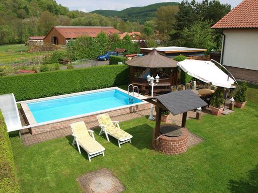 Holiday apartment Ferienwohnungen Reinhardt (Typ C für 2-4 Personen) (271341), Diedorf, Rhön (Thuringia), Thuringia, Germany, picture 9
