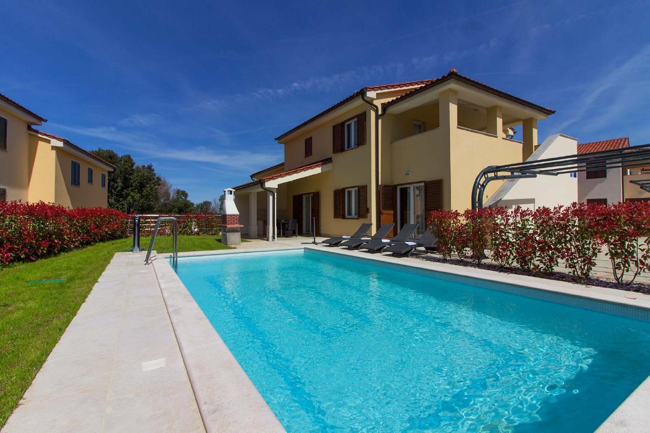 Villen Banjole - Olivia mit 2 privaten Pools Villa in Kroatien