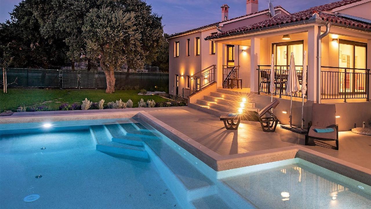 Wunderschöne Villa Monte Uliveto mit Pool in  Villa in Kroatien