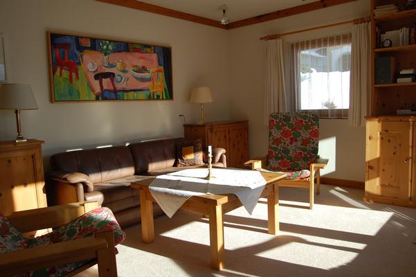 Chesa tschuetta oberengadin - Sitzgruppe wohnzimmer ...