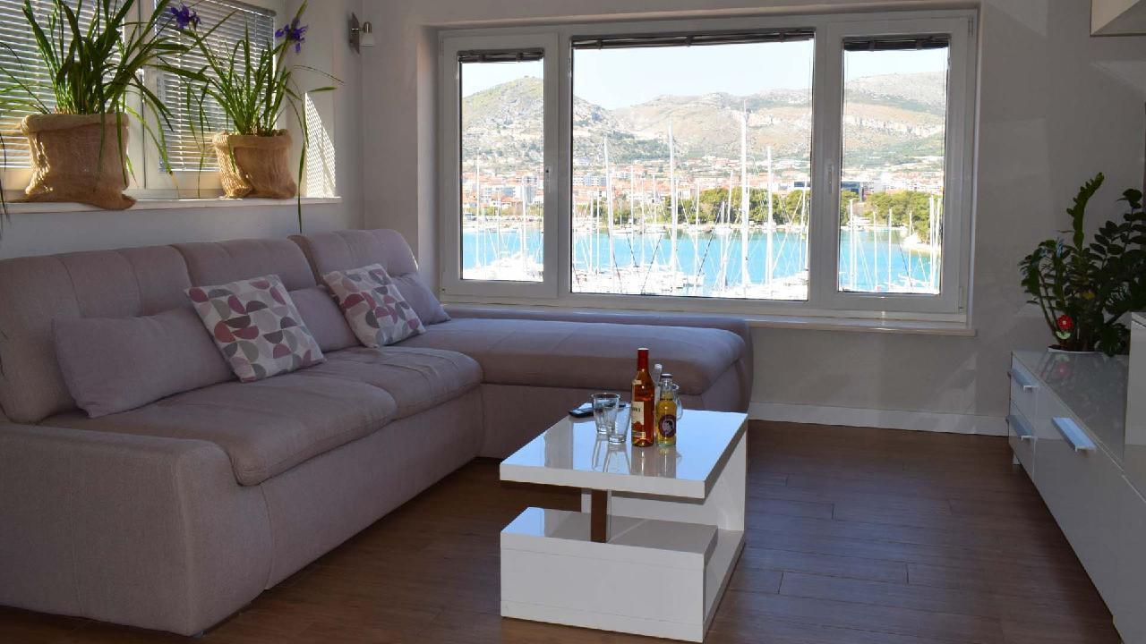 Ferienwohnung Stylisches Apartment Kamerlengo Nähe Trogir Zentrum - EOS-CROATIA (2789976), Trogir, , Dalmatien, Kroatien, Bild 3