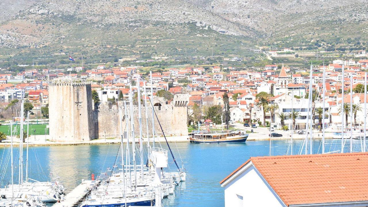 Ferienwohnung Stylisches Apartment Kamerlengo Nähe Trogir Zentrum - EOS-CROATIA (2789976), Trogir, , Dalmatien, Kroatien, Bild 6