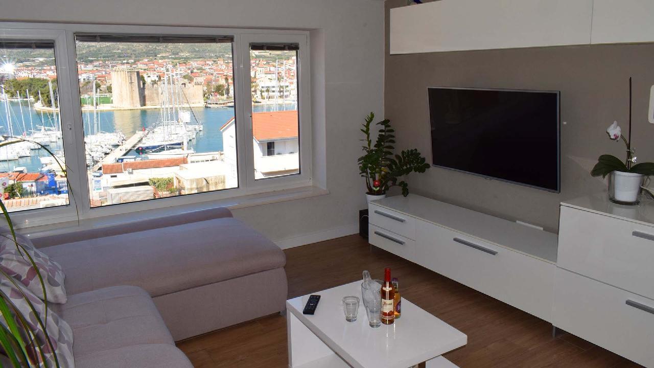 Ferienwohnung Stylisches Apartment Kamerlengo Nähe Trogir Zentrum - EOS-CROATIA (2789976), Trogir, , Dalmatien, Kroatien, Bild 5
