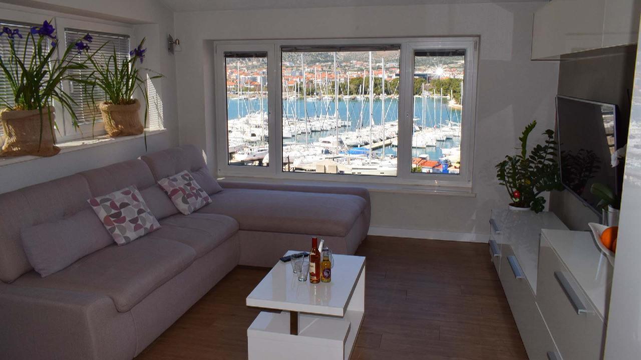 Ferienwohnung Stylisches Apartment Kamerlengo Nähe Trogir Zentrum - EOS-CROATIA (2789976), Trogir, , Dalmatien, Kroatien, Bild 2