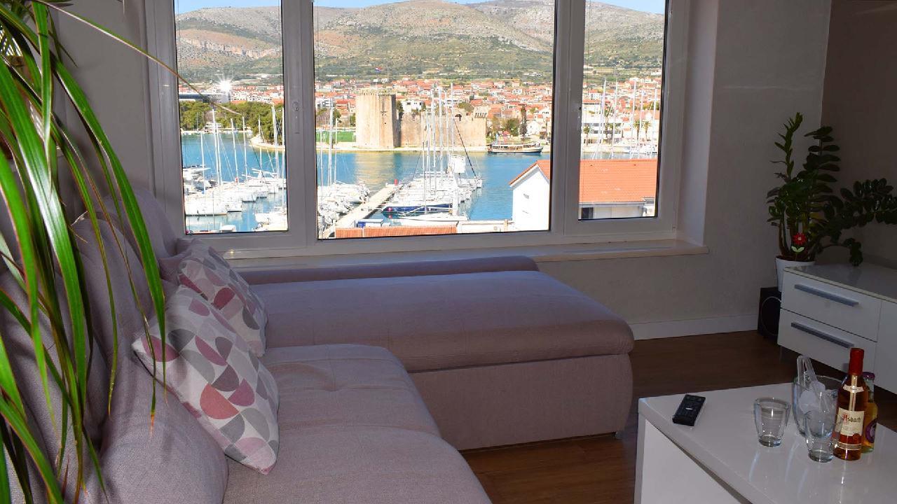 Ferienwohnung Stylisches Apartment Kamerlengo Nähe Trogir Zentrum - EOS-CROATIA (2789976), Trogir, , Dalmatien, Kroatien, Bild 4