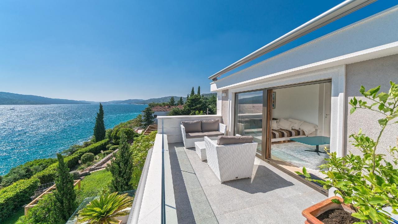 Ferienhaus Luxuriöse Strandvilla Marija in der Nähe von Trogir (2790031), Seget Vranjica, , Dalmatien, Kroatien, Bild 6