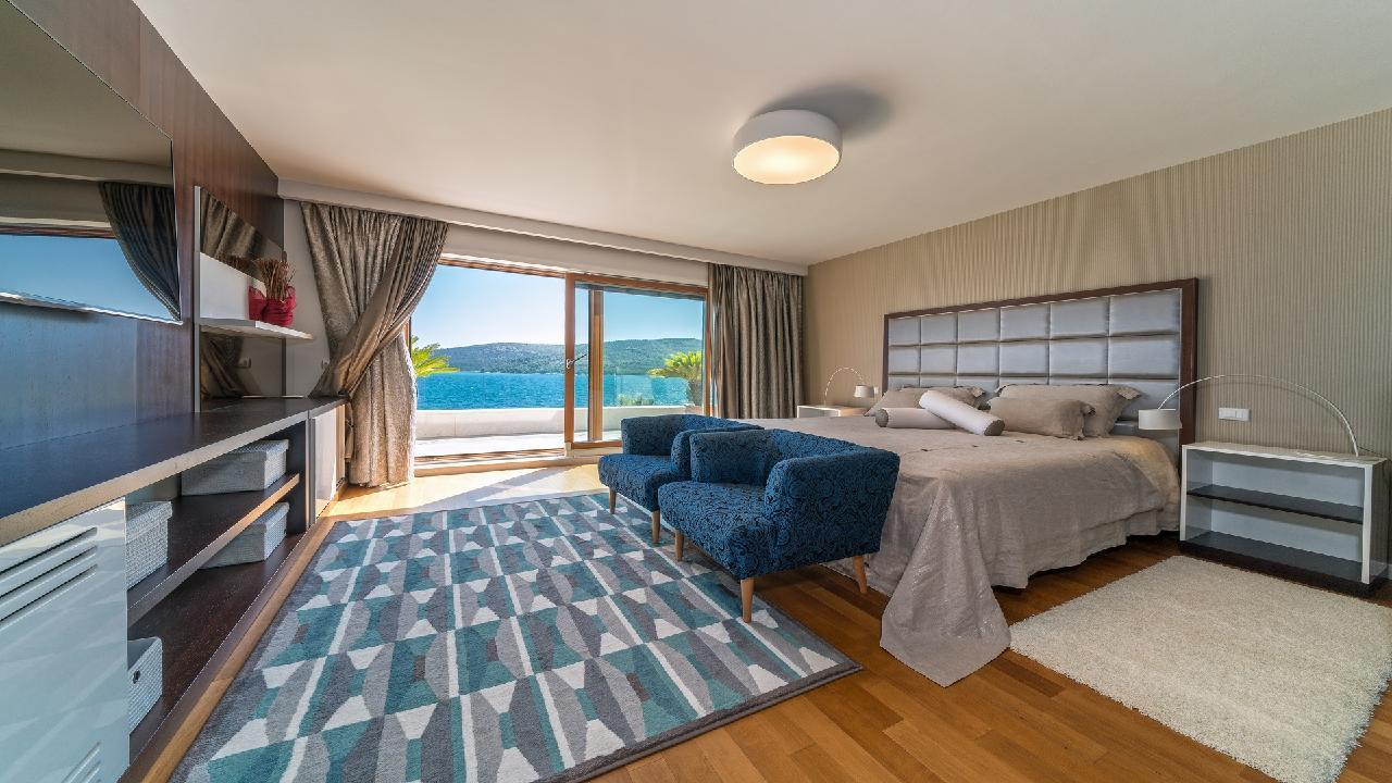 Ferienhaus Luxuriöse Strandvilla Marija in der Nähe von Trogir (2790031), Seget Vranjica, , Dalmatien, Kroatien, Bild 12