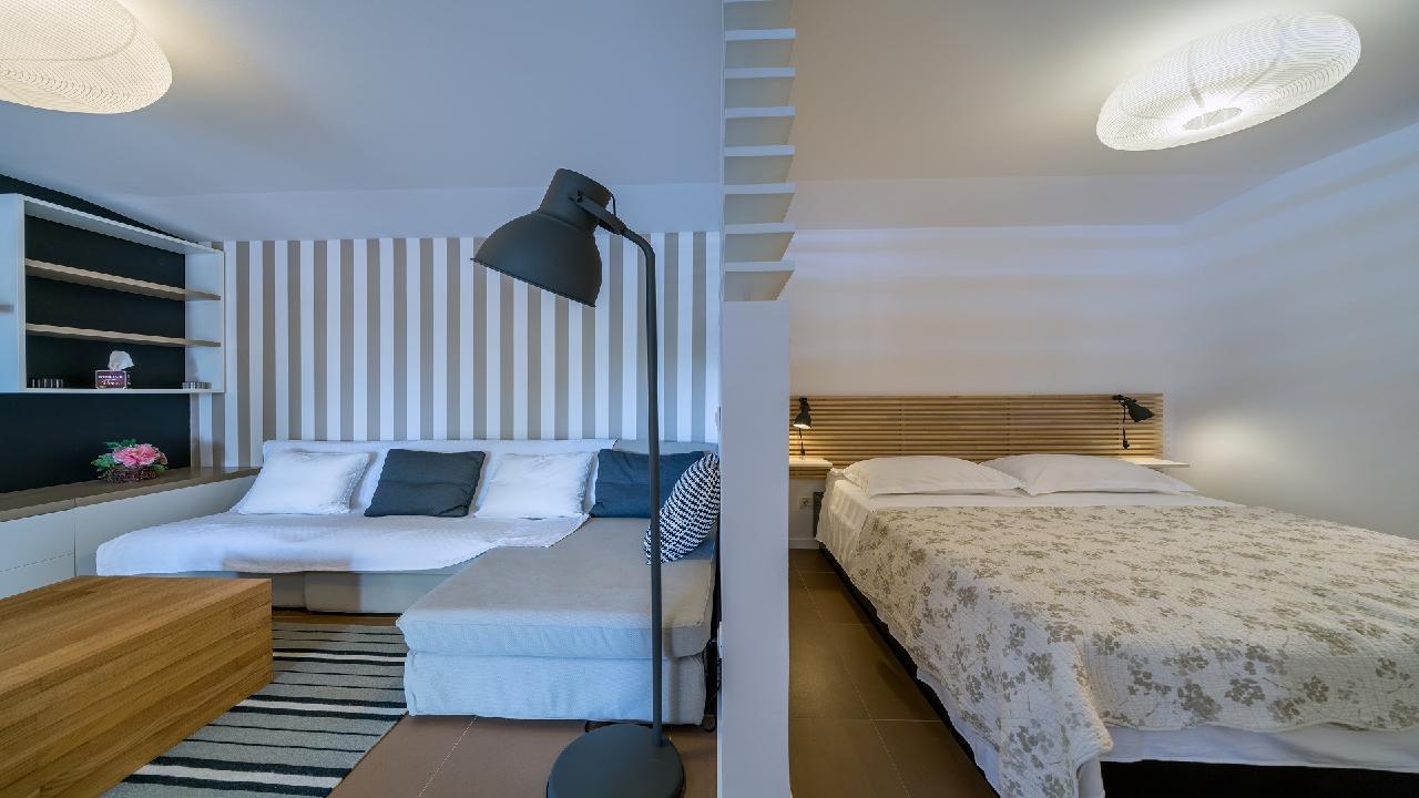 Ferienhaus Luxuriöse Strandvilla Marija in der Nähe von Trogir (2790031), Seget Vranjica, , Dalmatien, Kroatien, Bild 31