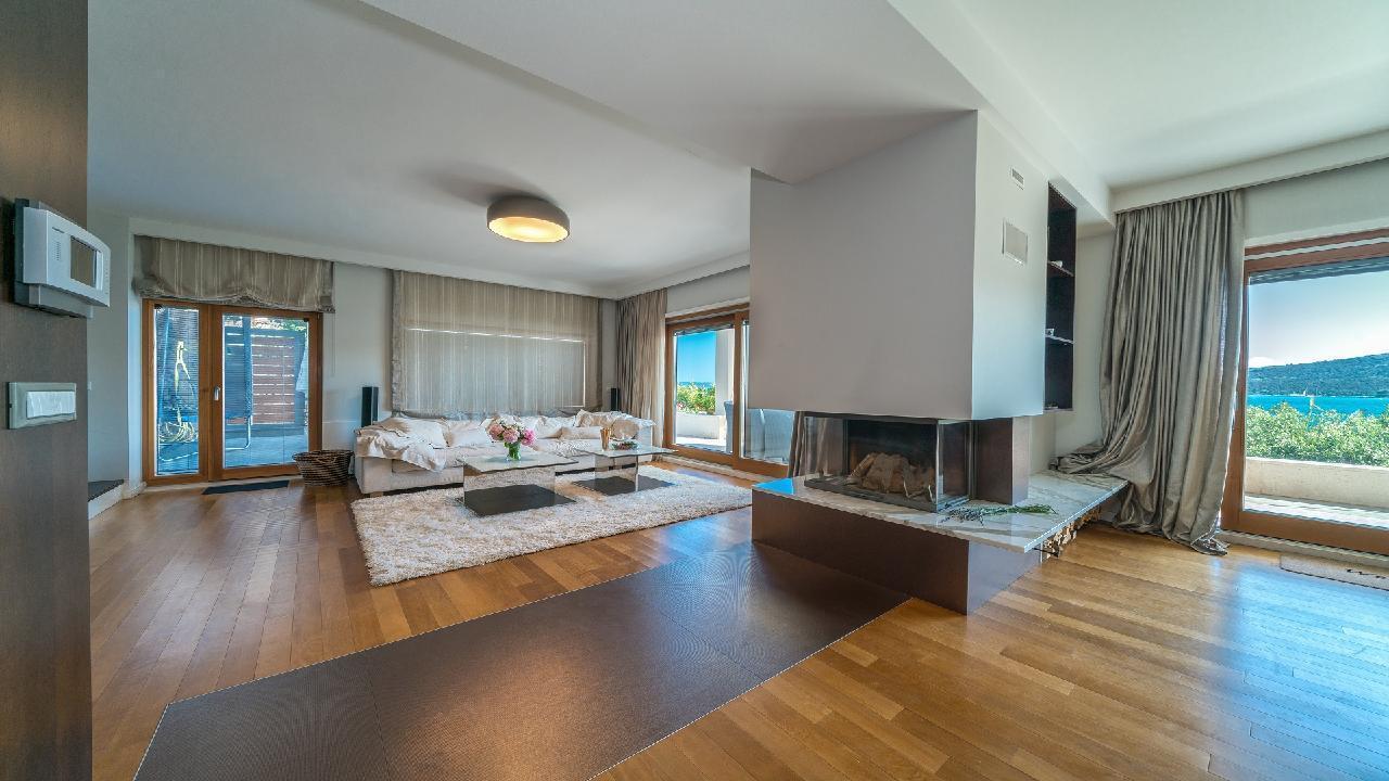 Ferienhaus Luxuriöse Strandvilla Marija in der Nähe von Trogir (2790031), Seget Vranjica, , Dalmatien, Kroatien, Bild 22