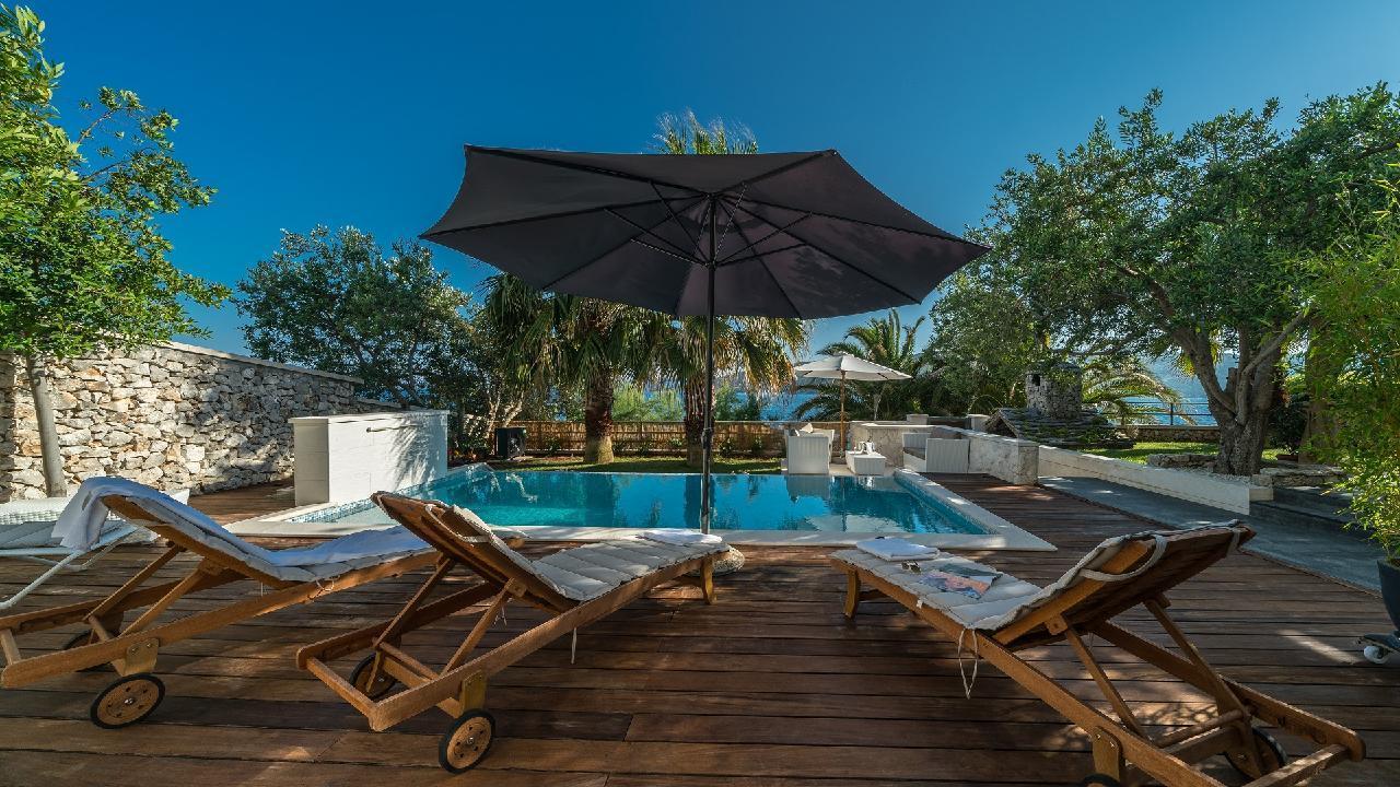 Ferienhaus Luxuriöse Strandvilla Marija in der Nähe von Trogir (2790031), Seget Vranjica, , Dalmatien, Kroatien, Bild 1
