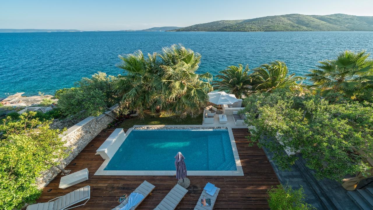 Ferienhaus Luxuriöse Strandvilla Marija in der Nähe von Trogir (2790031), Seget Vranjica, , Dalmatien, Kroatien, Bild 29