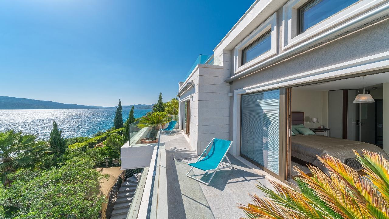 Ferienhaus Luxuriöse Strandvilla Marija in der Nähe von Trogir (2790031), Seget Vranjica, , Dalmatien, Kroatien, Bild 15