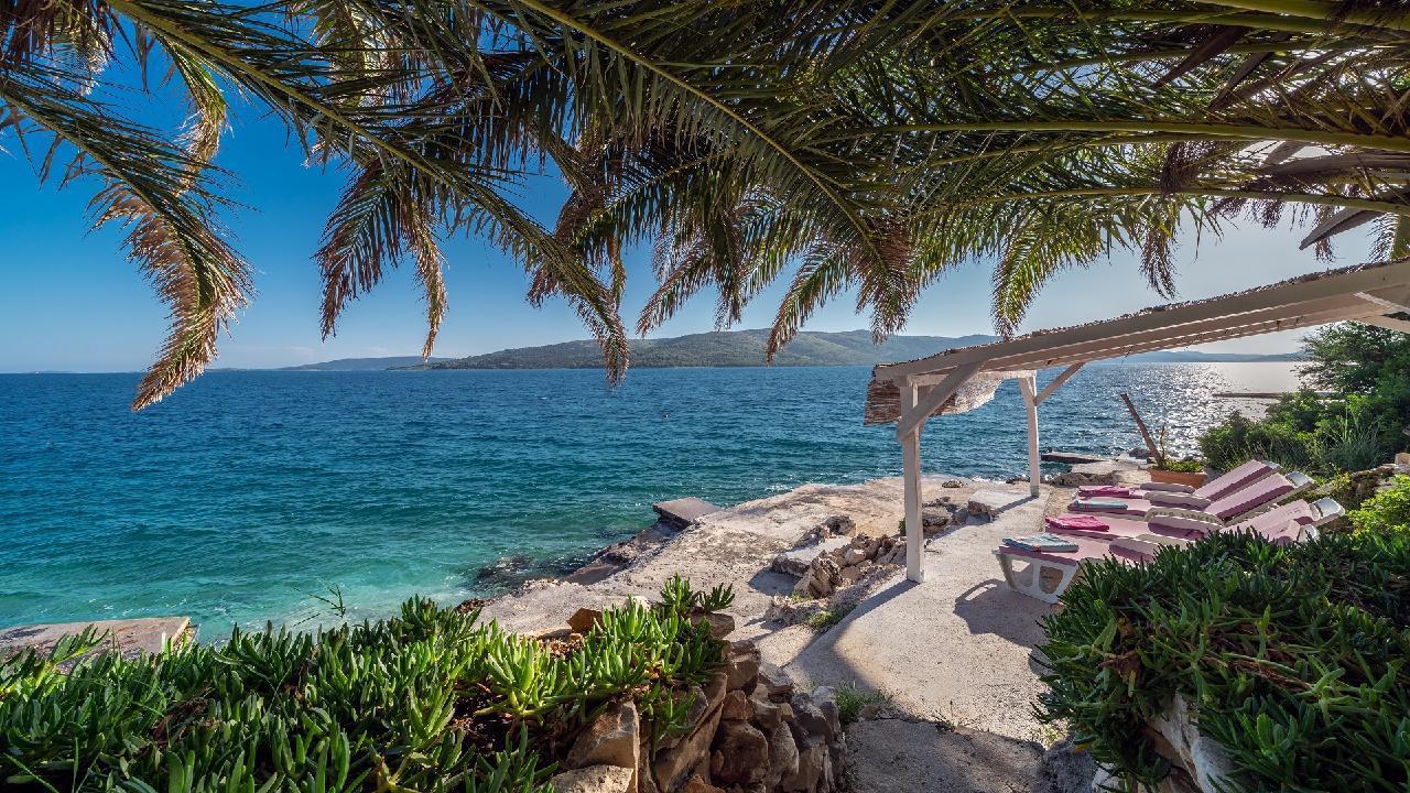 Ferienhaus Luxuriöse Strandvilla Marija in der Nähe von Trogir (2790031), Seget Vranjica, , Dalmatien, Kroatien, Bild 3